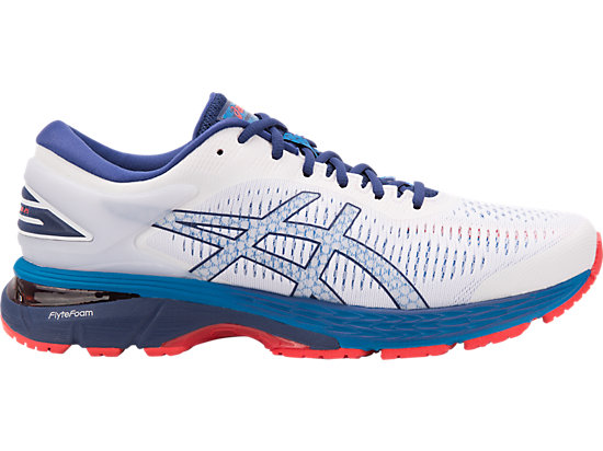 GEL-KAYANO 25 WHITE BLUE PRINT 99230fcdc9f1