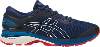 ASICS GEL-KAYANO 25 - Stabilty running shoes - indigo blue/cream
