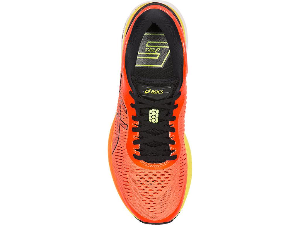 ASICS Men's Gel Kayano 25 Running Shoe (Shocking OrangeBlack)