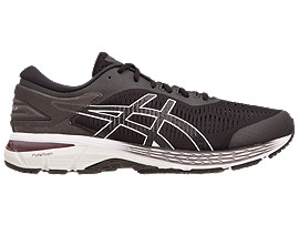 GEL-KAYANO® 25, BLACK/GLACIER GREY