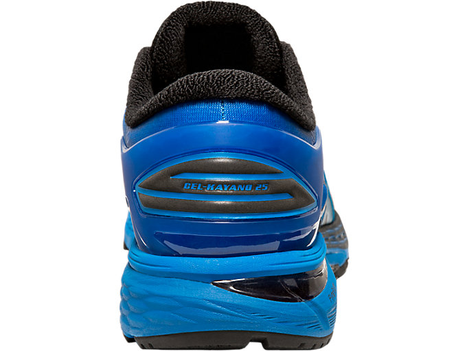 Back view of GEL-KAYANO 25 SP, BLACK/BLACK