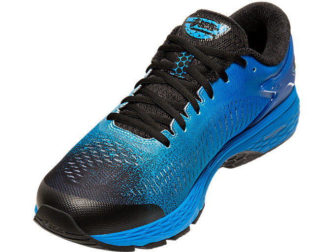 Front Left view of GEL-KAYANO 25 SP, BLACK/BLACK