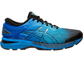 Right side view of GEL-KAYANO 25 SP, BLACK/BLACK