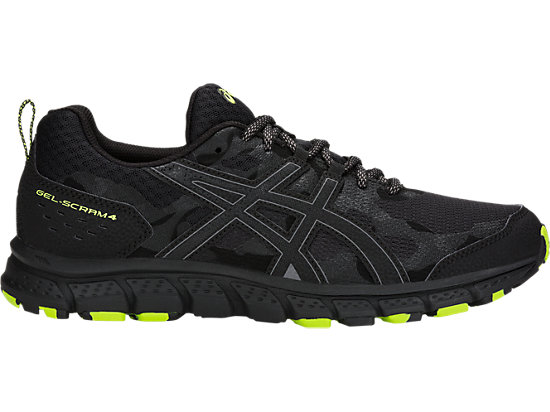 Gel Blackblack Scram Asics 4 Us Men gtrwgqa