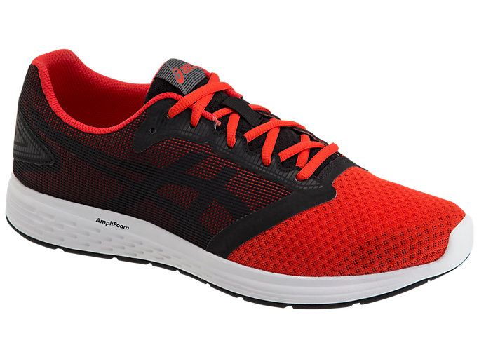 Front Right view of PATRIOT 10, CLASSIC RED/STEEL GREY