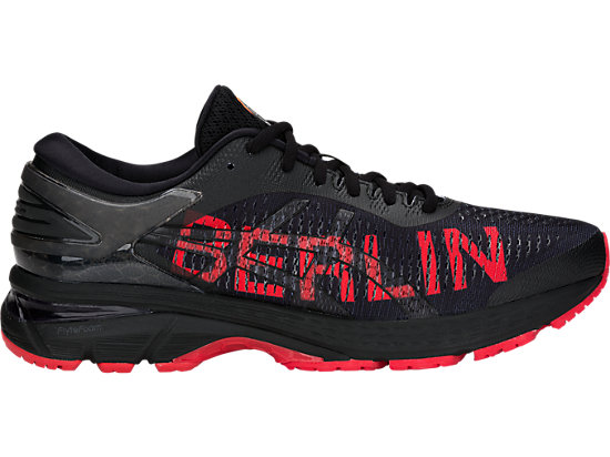 GEL-KAYANO 25 BERLIN, BLACK/CLASSIC RED