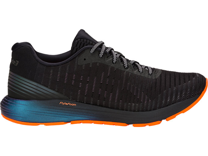 Right side view of DynaFlyte 3 LITE-SHOW, BLACK/SHOCKING ORANGE