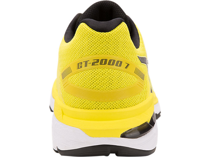 Back view of GT-2000 7, LEMON SPARK/BLACK