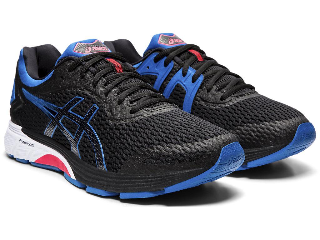 GT 4000 chaussures de course hommes Asics en noir ici
