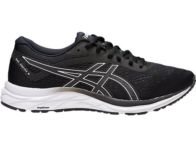 Men's GEL EXCITE 6 Svart hvitJoggeskoASICS Svart hvitJoggesko ASICS