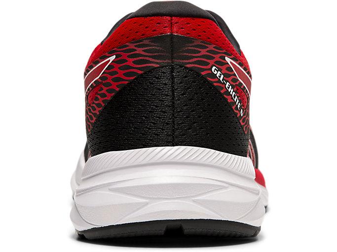 Back view of GEL-EXCITE™ 6, BLACK/SPEED RED