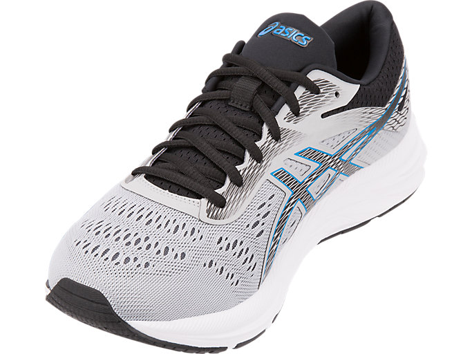 Men's GEL EXCITE 6 | MID GREYELECTRIC BLUE | Buty do