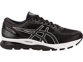 GEL-NIMBUS 21, BLACK/DARK GREY