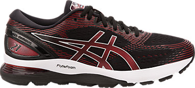 3ffe3e946b4 GEL-NIMBUS 21 | Men | Black/Classic Red | ASICS US
