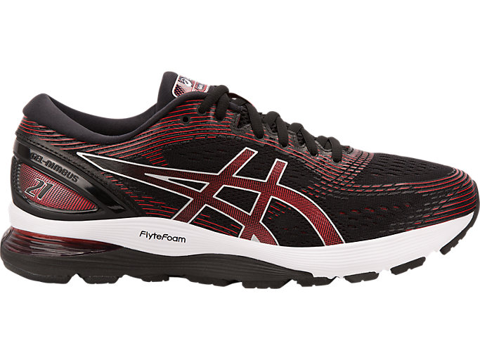 GEL-NIMBUS™ 21, BLACK/CLASSIC RED
