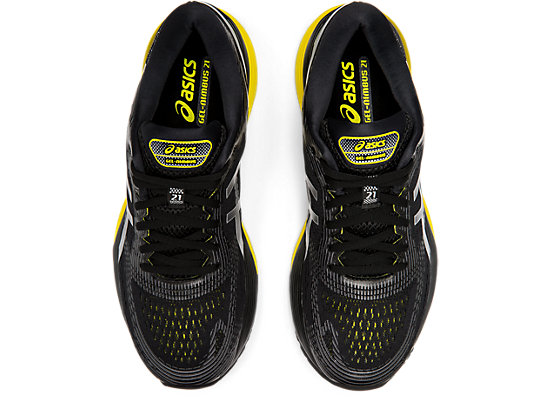 GEL-NIMBUS 21 BLACK/LEMON SPARK