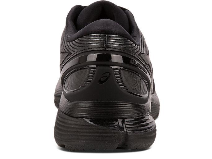 Back view of GEL-NIMBUS™ 21, BLACK/BLACK