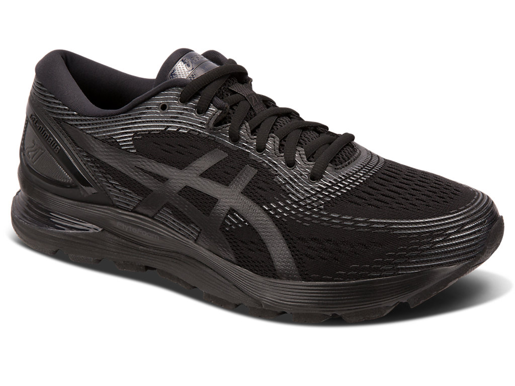 Men's GEL NIMBUS™ 21 | BLACKBLACK | Scarpe da Running | ASICS