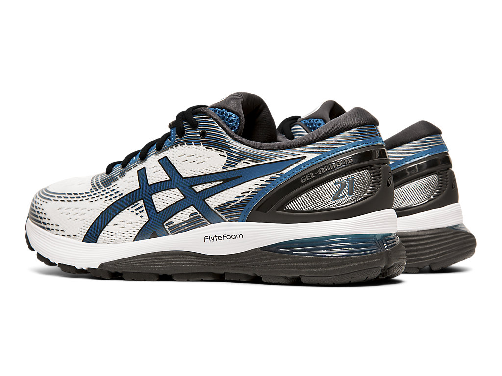 ASICS-Men-039-s-GEL-Nimbus-21-Running-Shoes-1011A169 thumbnail 57