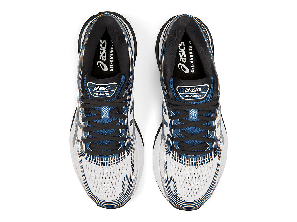 ASICS-Men-039-s-GEL-Nimbus-21-Running-Shoes-1011A169 thumbnail 60