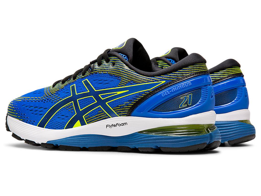 ASICS-Men-039-s-GEL-Nimbus-21-Running-Shoes-1011A169 miniature 48