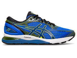 GEL-NIMBUS 21, ILLUSION BLUE/BLACK