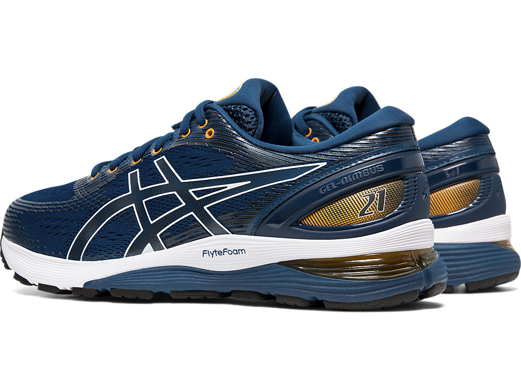 ASICS-Men-039-s-GEL-Nimbus-21-Running-Shoes-1011A169 miniature 57