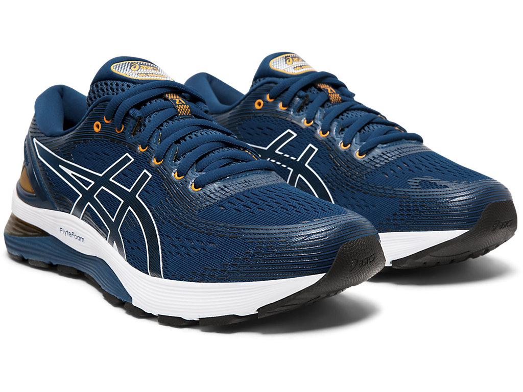 ASICS-Men-039-s-GEL-Nimbus-21-Running-Shoes-1011A169 miniature 56