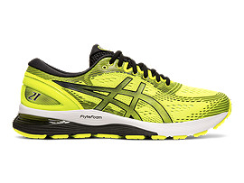 Right side view of GEL-NIMBUS™ 21, SAFETY YELLOW/BLACK
