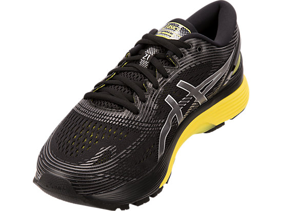 professional sale latest fashion top fashion GEL-NIMBUS 21 (2E) | Black/Lemon Spark | Men's Running Shoes ...