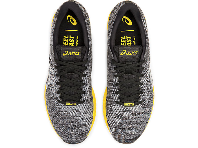 Top view of DS-TRAINER 24, BLACK/TAI-CHI YELLOW