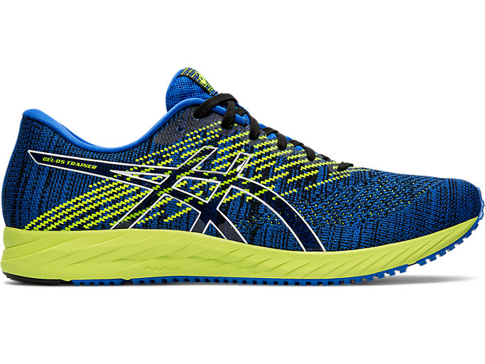 Right side view of GEL-DS TRAINER 24, ILLUSION BLUE/BLACK