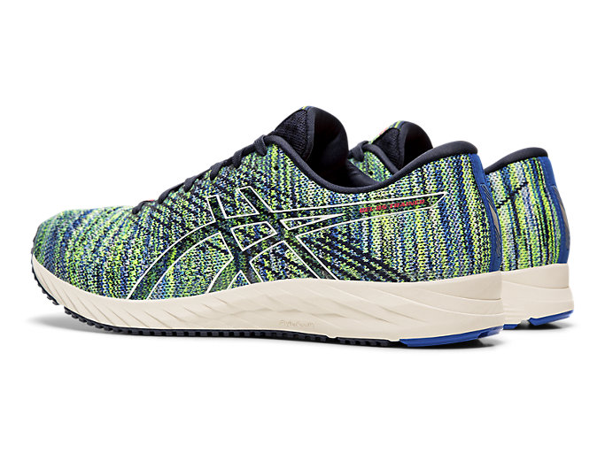Front Left view of GEL-DS TRAINER™ 24, ELECTRIC BLUE/BIRCH