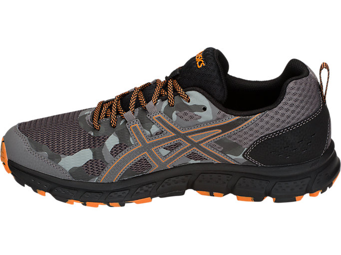 Men's GEL Scram 4 (4E) CarbonLava OrangeTrail Running CarbonLava Orange Trail Running