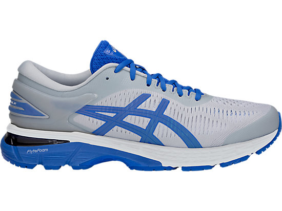 GEL-KAYANO 25 LITE-SHOW, MID GREY/ILLUSION BLUE