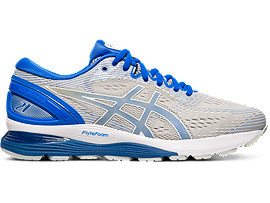 GEL-NIMBUS 21 LITE-SHOW, MID GREY/ILLUSION BLUE