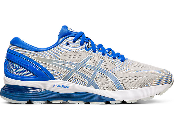 Men Running Shoes Mid Grey//Blue 1011A207-020 Asics GEL-Nimbus 21 Lite-Show