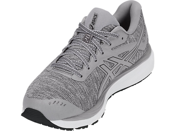 Front Left view of GEL-CUMULUS 20 MX, STONE GREY/BLACK