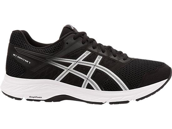 Details about Asics Gel Contend 5 Mens Running Shoes (D) (100) (WHITEBLACK)