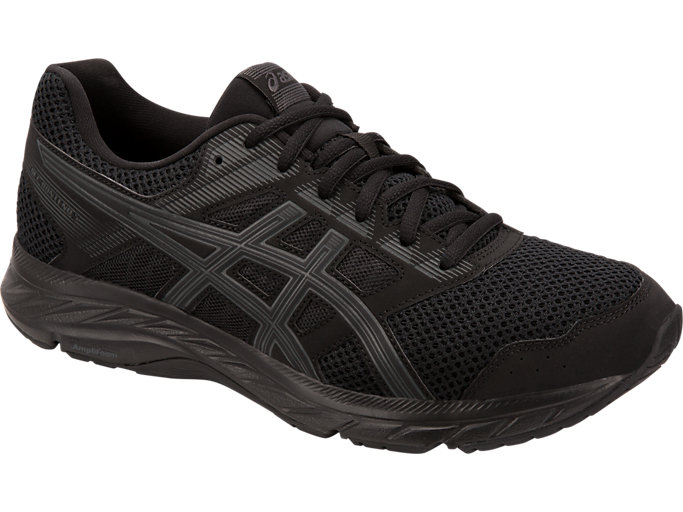 Front Right view of GEL-CONTEND 5, BLACK/DARK GREY
