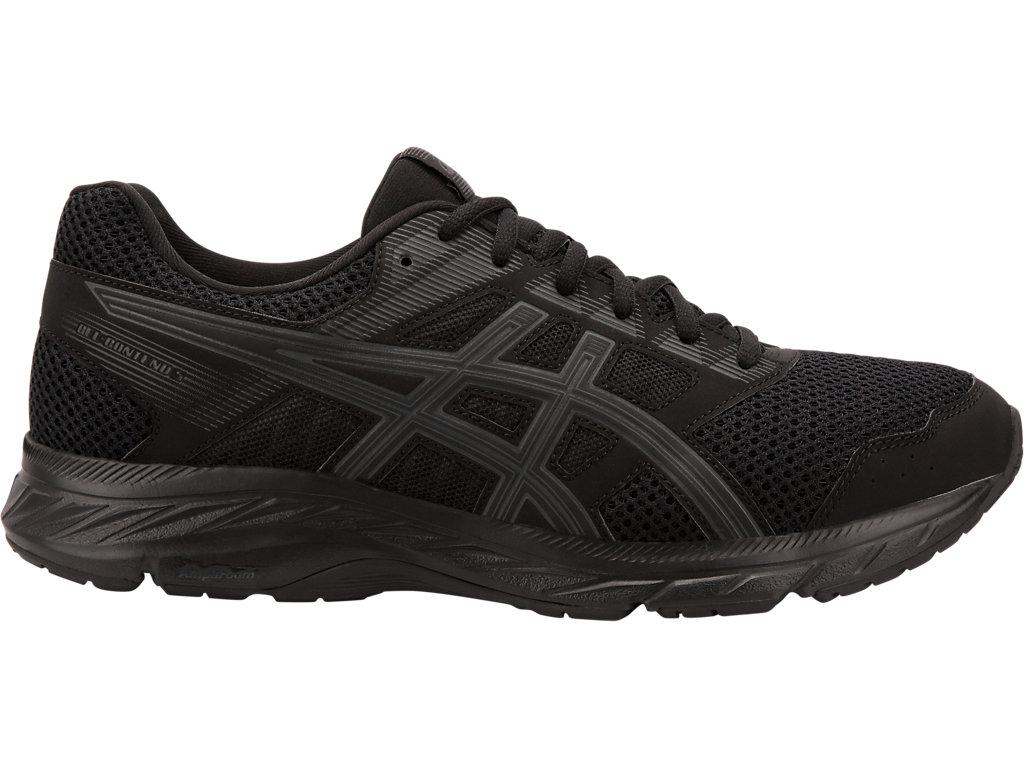Men's GEL CONTEND 5 | BLACKDARK GREY | Running Shoes | ASICS