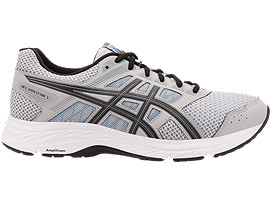GEL-CONTEND 5, MID GREY/BLACK
