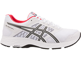 GEL-CONTEND 5, WHITE/BLACK