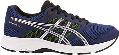 Asics Gel Contend 2 Mens Running Shoes Jogging Sneakers Blue