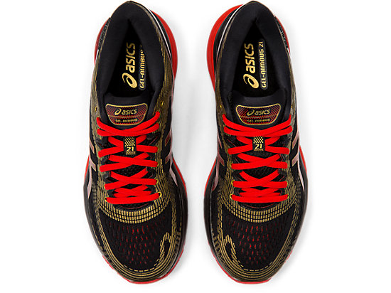 GEL-NIMBUS 21 BLACK/CLASSIC RED