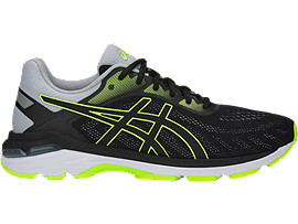 GEL-PURSUE 5, BLACK/HAZARD GREEN