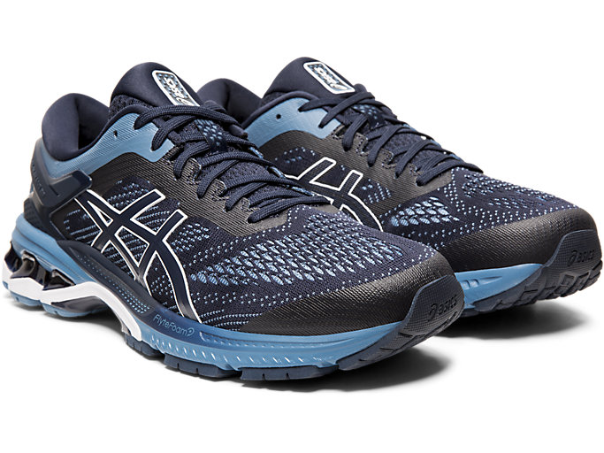 Front Right view of GEL-KAYANO 26 (4E)