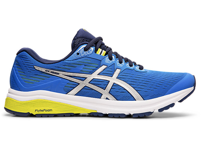 Men's GT 1000™ 8 | ELECTRIC BLUESILVER | Running Shoes | ASICS