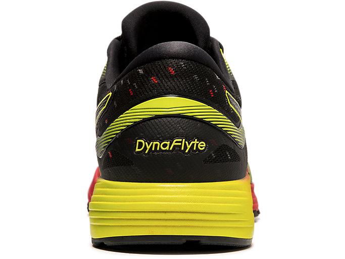 Back view of DYNAFLYTE™ 4, SPEED RED/BLACK