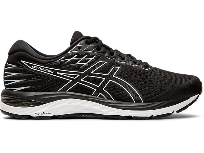 Men's GEL CUMULUS™ 21 | BLACKWHITE | Scarpe da Running | ASICS